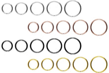 Load the image into the gallery viewer, Titan Basic segment ring bendable piercinginspiration®