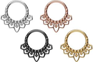 Oriental ring clicker piercinginspiration®
