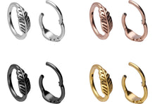 Upload the image to the gallery viewer, Feder Ring Clicker piercinginspiration®