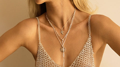 Grace Bijoux Body Chains, necklaces and earrings