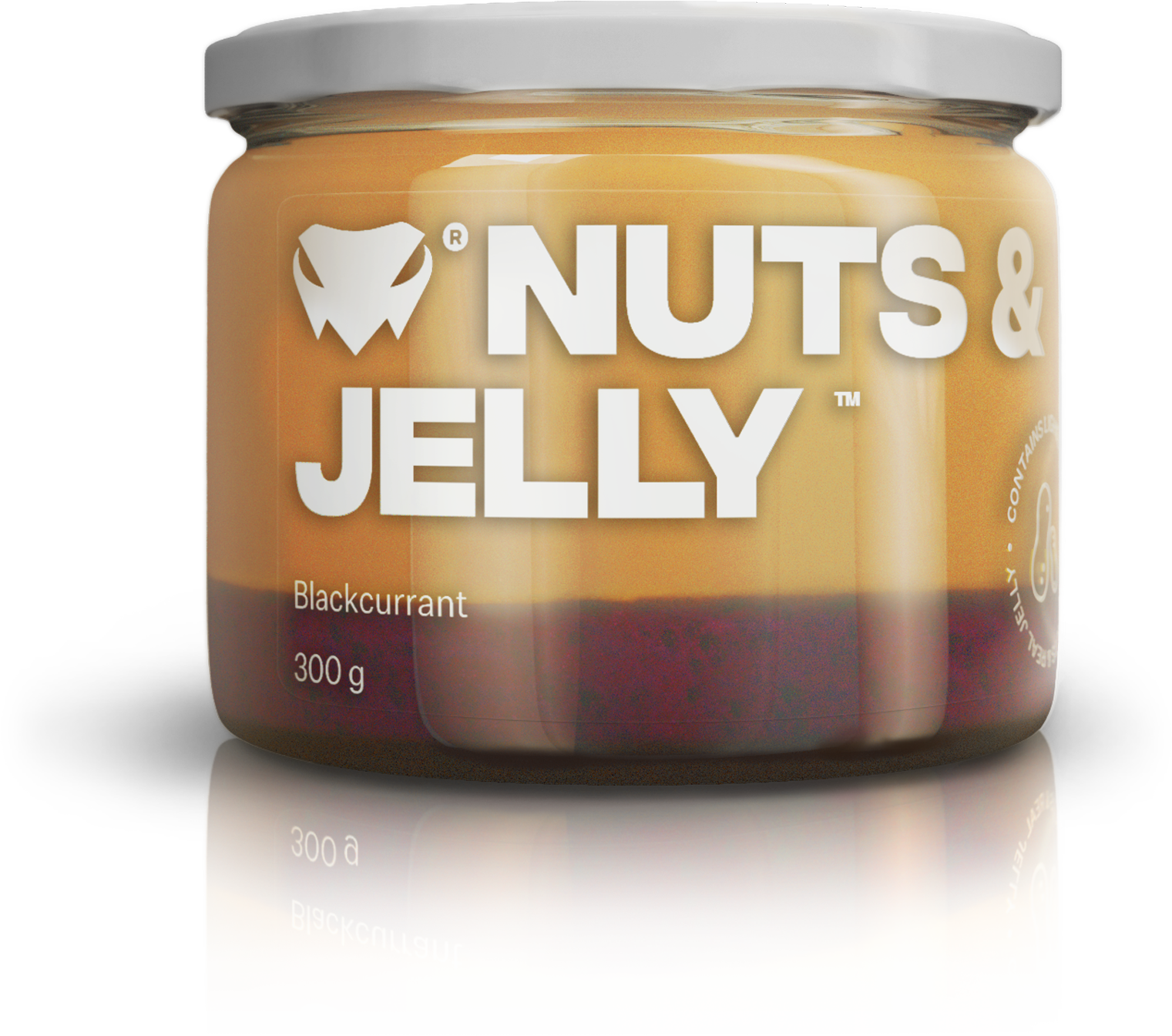 Nuts & Jelly Blackcurrant