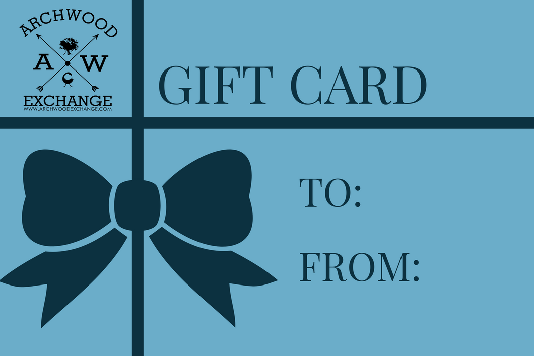 Archwood Exchange Gift Card