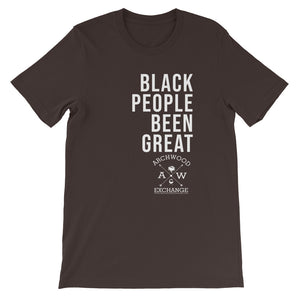 Been Great Short-Sleeve Unisex T-Shirt