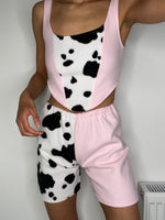 Pink Cow Shorts
