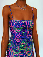 Kaleidoscope Baby Doll Dress