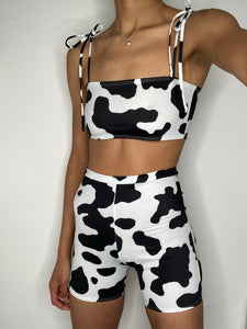 Cow Cycling Shorts ONLY