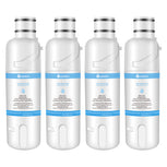 Replacement for Whirlpool Water Filter EDR2RXD1 W10413645A , Whirlpool filter 2, 4-Pack - funcoolbox2018