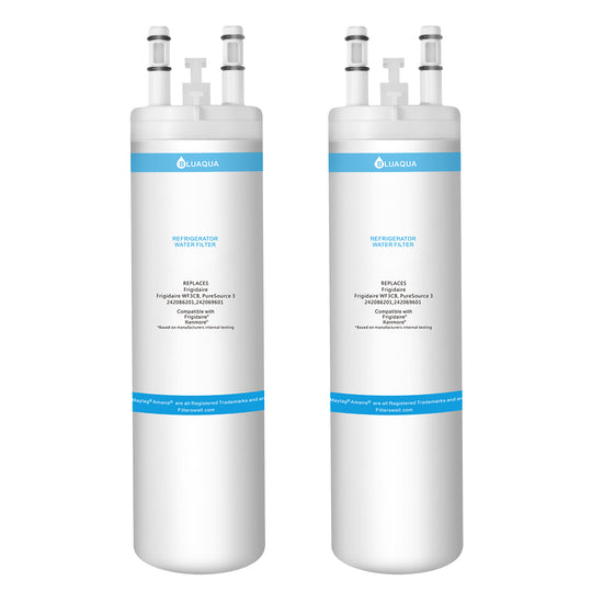 Frigidaire WF3CB  Water Filter, Puresource 3, 242069601  Refrigerator Water Filters Replacement 2-pack - funcoolbox2018