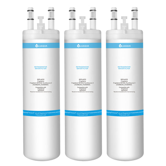 Frigidaire WF3CB  Water Filter, Puresource 3, 242069601  Refrigerator Water Filters Replacement 3-pack - funcoolbox2018