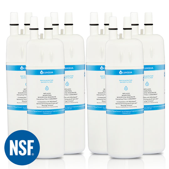 Replacement  Water Filters  for Whirlpool W10295370A Water Filter, W10295370, Everydrop filter, EDR1RXD1   (6- Pack) - funcoolbox2018