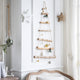Handmade Wooden Ladder Christmas Wall Hanging Decoration