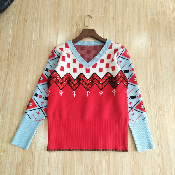Cashmere Ugly Christmas Sweater women - mydealsite