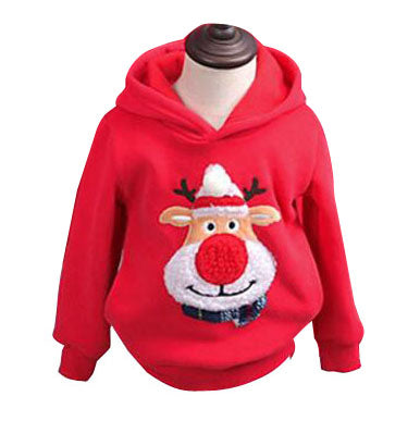 Family Clothing Winter Sweater Christmas Deer matching sweatshirts - mydealsite