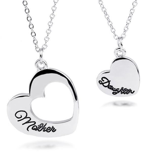 Mother Daughter Heart Set - mydealsite