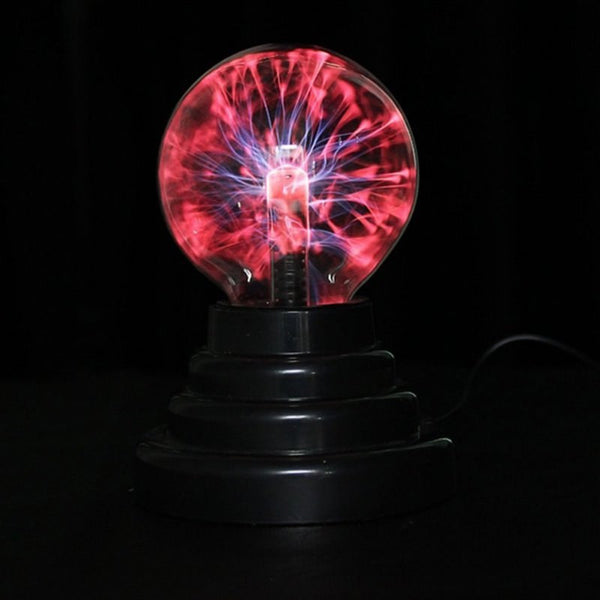 3 inch Magic Plasma Ball Retro Light Kids Room Decor Gift Lightning Lava Lamp - mydealsite