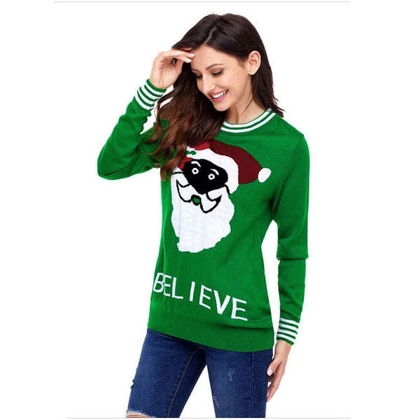Ugly Christmas Sweater Women Fashion - mydealsite