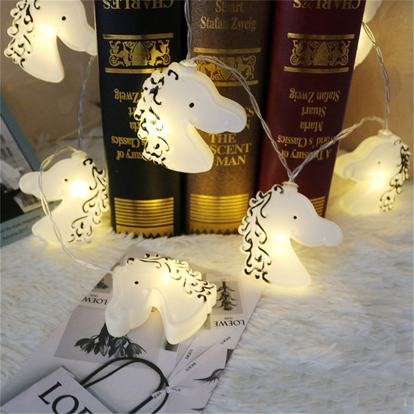 Children Fairy String Light Warm White Christmas Kids Room Decor - mydealsite
