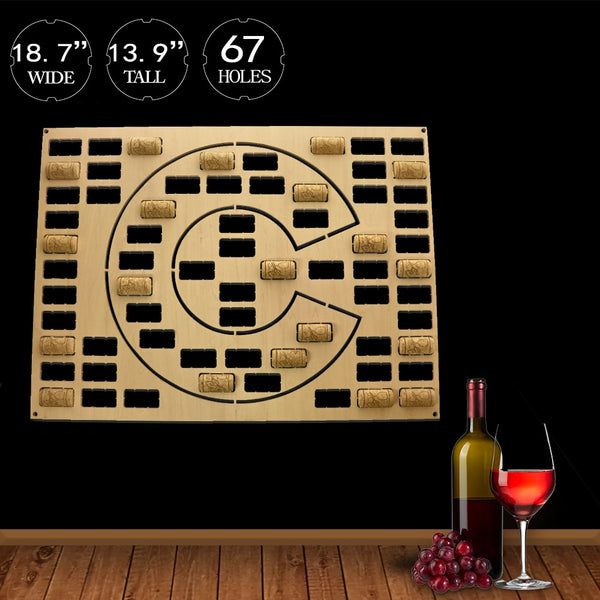 US Country State Wooden Wine Cork Craft Map of Colorado Wine Cork Display Wall Map Colorado Pub Bar Wine Cork Holder Wall Decor
