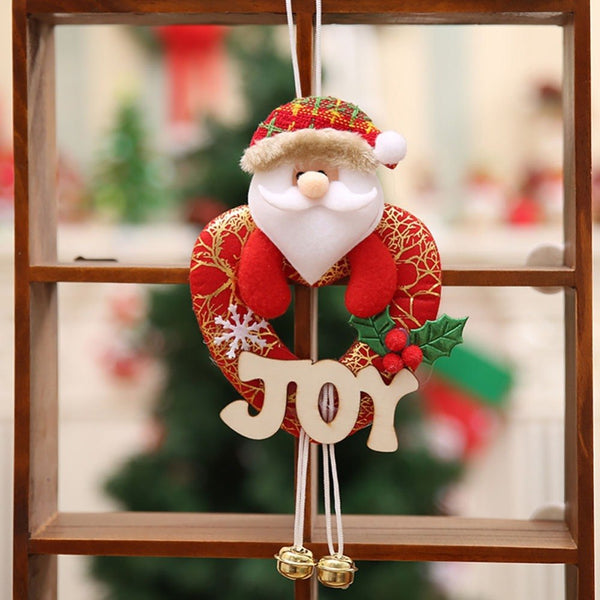 Christmas Tree Wall Fireplace Hanging Stockings - mydealsite
