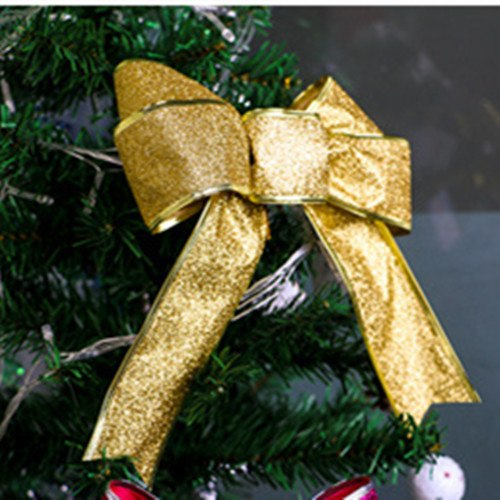 24cm Large Bow Christmas tree Decorations.  Bowknot Pendant Christmas Bows - mydealsite