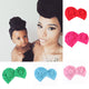 2Pcs Matching Mother Baby Sport Yoga Turban Hats Set
