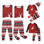 Christmas Matching Deer Family Pajama Sets Kids Size Upto 13T and Baby Romper
