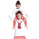 Christmas Family Matching Outfits Women Pajamas Sets Deer Snow Printed Long Sleeve Top Trousers Xmas Sleepwear Nightwear Outfits