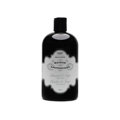 Charcoal and Sage Body Wash