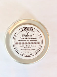 Healing Salve - Patchouli and Frankincense