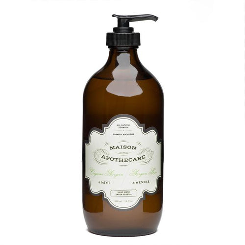Argan and Mint Hand Wash