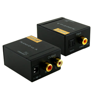 Cablesson ® SAP-3 Digital-Analog-Audio Converter - SPDIF - TOSLINK / Coaxial auf Stereo links / rechts RCA