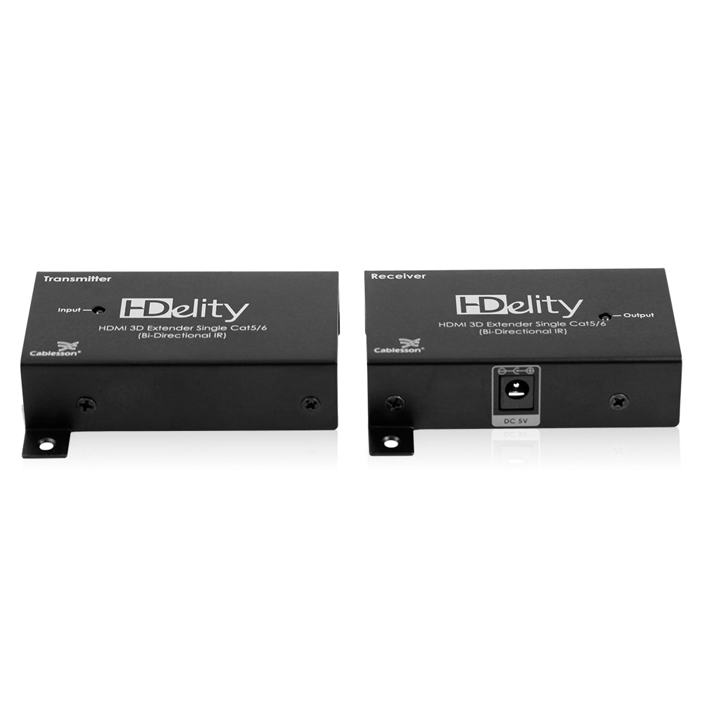 Cablesson HDElity HDMI 3D-Extender CAT5 / 6 (BI Directional IR)