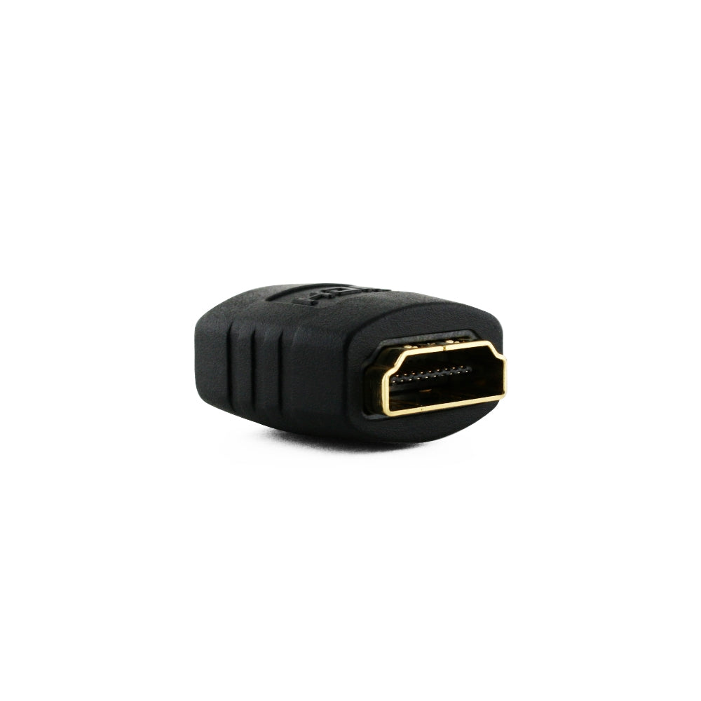 HDMI Coupler Adapter - Schwarz (24K Gold Plated v1.3 & v1.4 &2.0 supported 1080p Full HD)