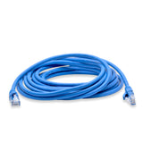 Cablesson - 20m - Cat6 Ethernet Gigabit Lan network cable (RJ45), 10/100/1000Mbit/s, Patch cable, compatible with CAT.5, CAT.5e, CAT.7,  Switch, Router, Modem, Patch panel, Access Point, patch fields, Blue