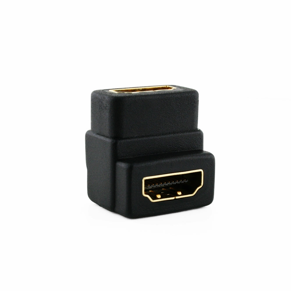 Cablesson rechtwinklig HDMI Koppler Adapter
