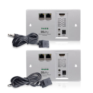 Cablesson HDelity HDBaseT 100m Wandplatten-Extender with Ethernet