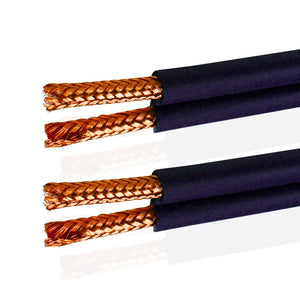 Van Damme Shotgun Audio Twin Interconnect Speaker Cable (Total Definition Directional HI-FI) 268-500-000 150 Metre / 150M