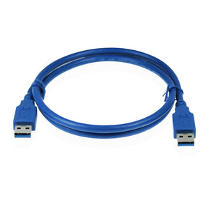 Cablesson USB Version 3.0 A Male to A Male Cable 1M