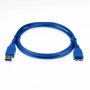 Cablesson USB Version 3.0 A Male to Micro B Male Cable 3M