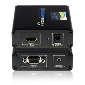 Cablesson HDelity HDMI to VGA + Audio Converter - Lifetime Warranty
