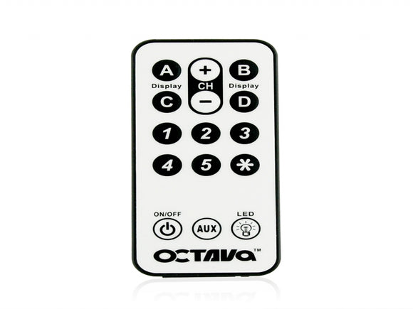 Octava Remote Control (Credit Card style remote)- Standard (For HDS-5 Only)