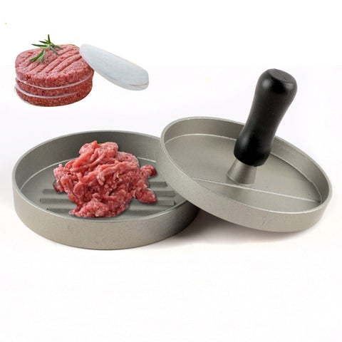 Aluminum Alloy Round Shape Hamburger Press