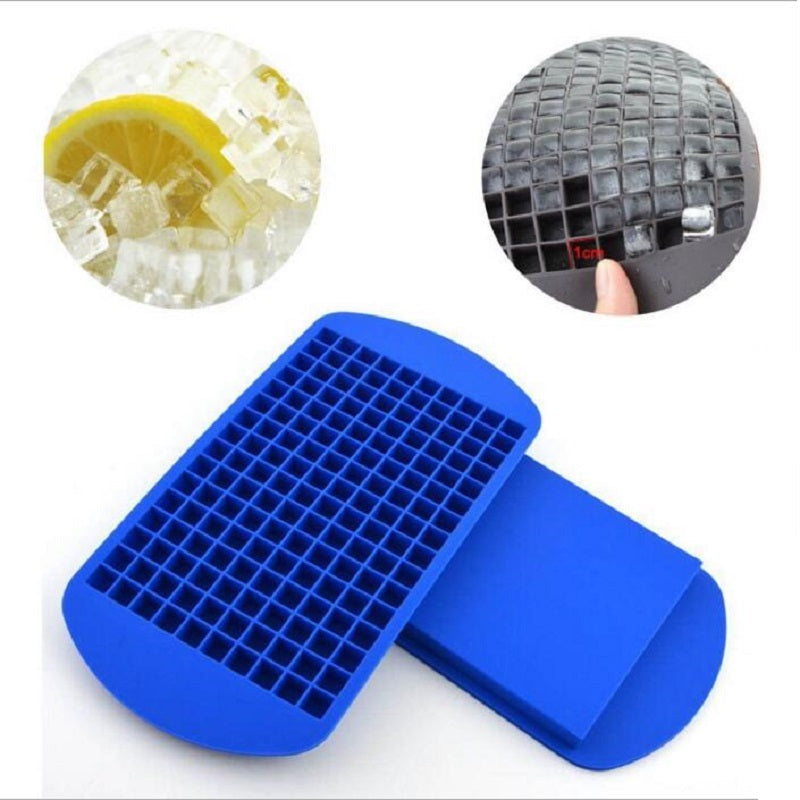 Silicone 160 Grids Small Ice Maker Cube Trays.