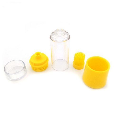 Silicone Honey and Oil Brush Bottle