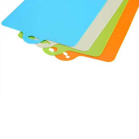 Image of Flexible Plastic Non-slip Cutting Board with a Hang Hole