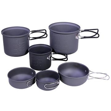 Proforce Equipment Cookware 6 Piece Essentials Mess Kit