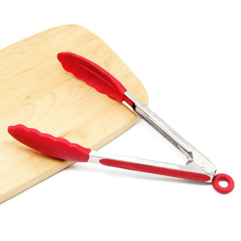 Image of Silicone Kitchen Tongs