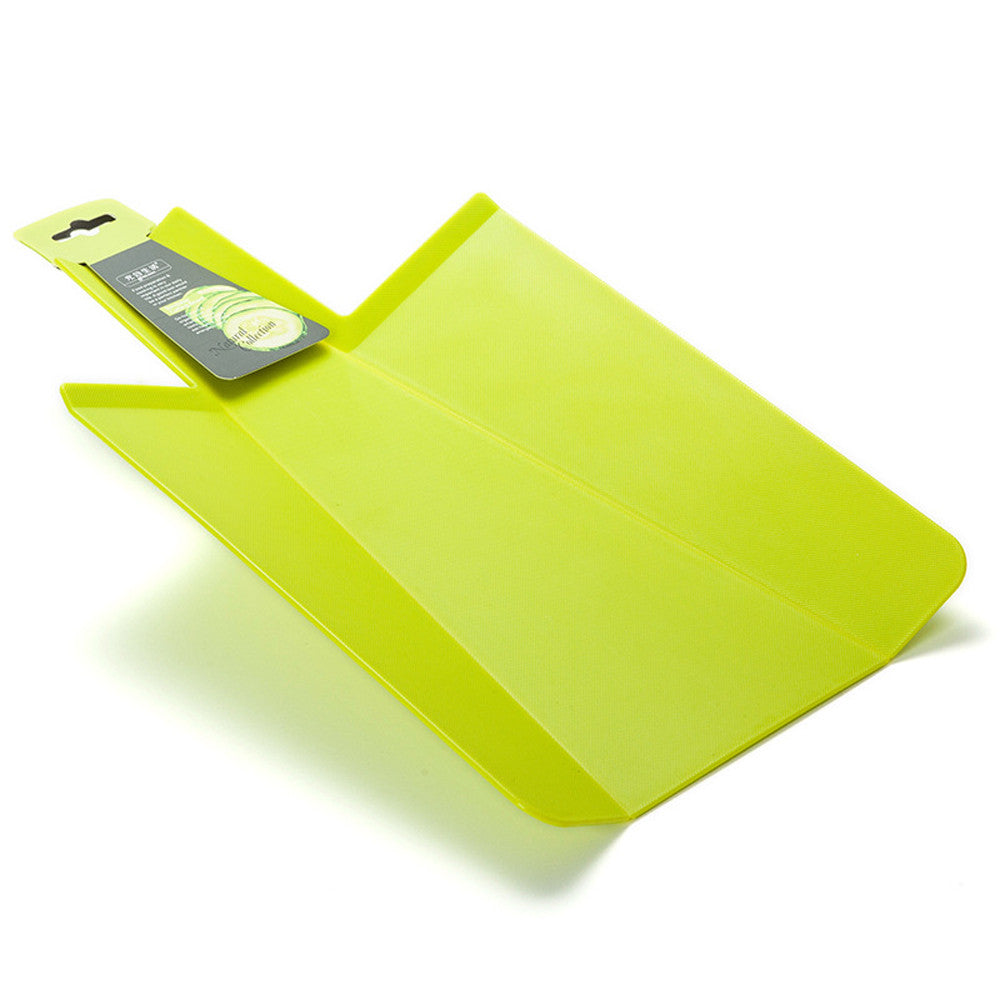 Green Shovel Folding Chopping Board Set