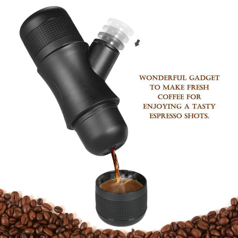 Image of Portable Compact Espresso Coffee Maker