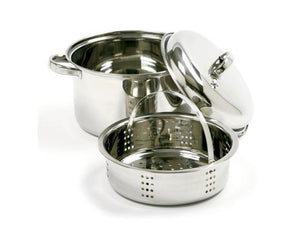 Norpro 4-Quart Steamer Cooker, 3 Piece Set